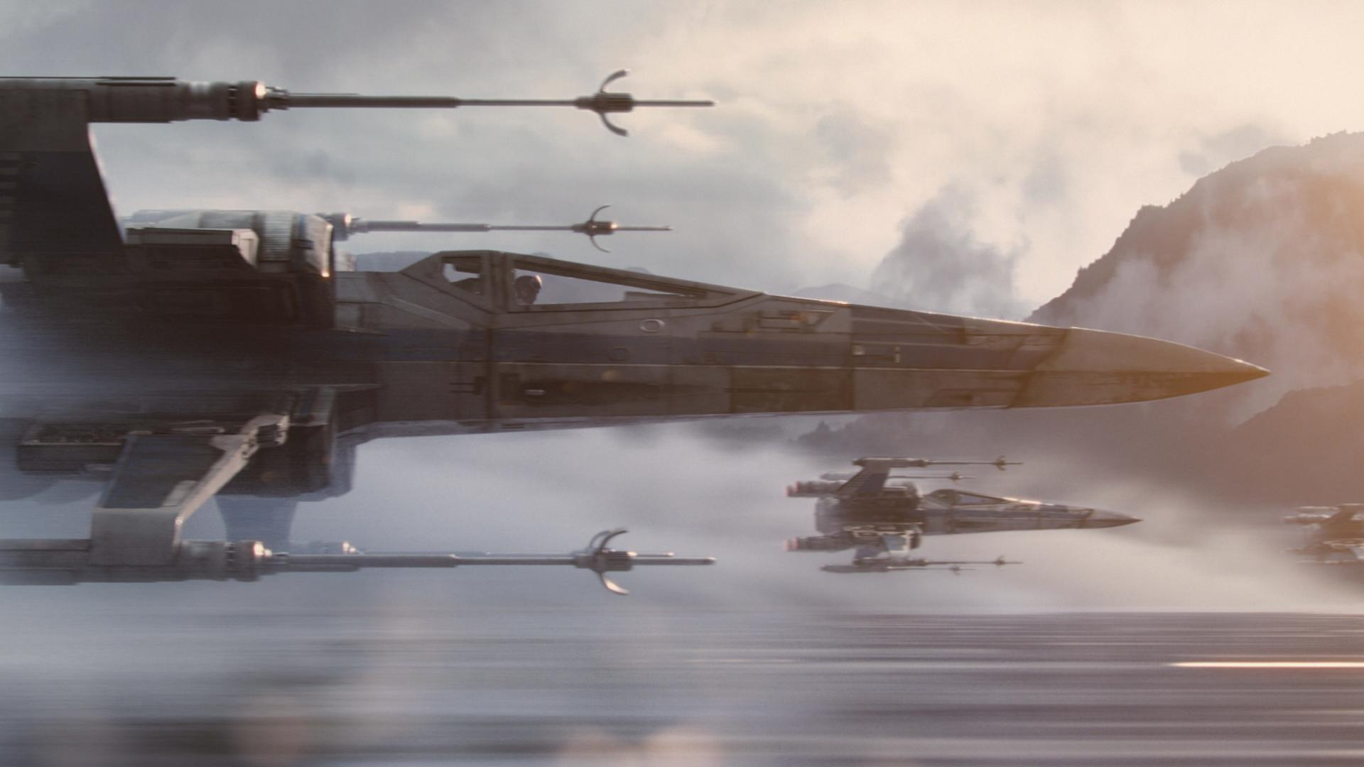 Star Wars: The Force Awakens X-Wing Starfighters Ph: Film Frame ©Lucasfilm 2015